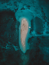Aerial View Of Naked Island In...