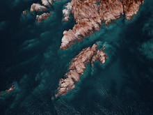 Aerial View Of A Reddish Seclu...