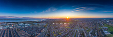 Panoramic Aerial View Of The S...