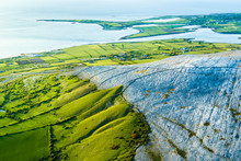 Aerial View Of The Limestone M...