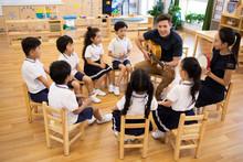 Music Class In Kindergarten