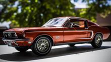 Miniature Car Ford Mustang Die...