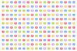 Social media background, Like symbol, speech bubble, Notifications backdrop, Wallpaper