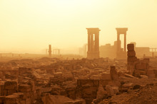 Syria, Homs Governorate, Palmyra,Temple Of Bel