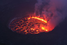 Africa, Congo, View Of Lava Fr...
