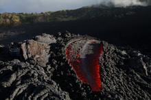 Guatemala, Pacaya Volcano, Lav...
