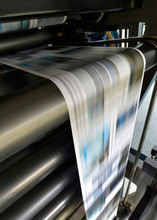 Printing Of Newspapers In A Pr...