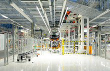 Production Of VW Cars In A Fac...
