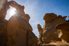 Sandstone Sculptures And Sun F...