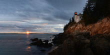 Bass Harbor Headlight At Sunse...
