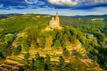 Aerial View By Drone Of Tsarev...