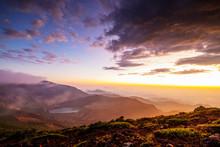Mount Zao San, Sunrise, Yamaga...
