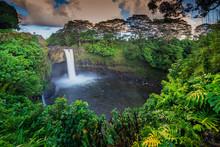Rainbow Falls, Big Island, Haw...