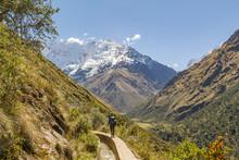 Peru, Cuzco, Cusco, Salkantay Trek 5d, Eindrücke Während Der Wanderung Zum Salkantay Pass