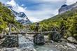 Chile, Región de Magallanes y de la Antártica Chilena, Ultima Esperanza, Torres del Paine, O-Circuit-Wanderung 130km, Wanderung zum vorletzten Camp