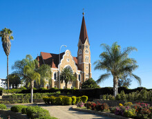 Evangelisch-lutherische Christuskirche Von 1910, Windhoek, Namibia