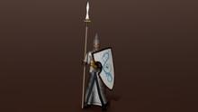 Elven Warrior 3d Render,  Fant...