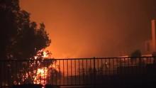 Major Brush Fire In California