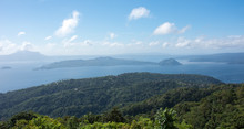 View Of Taal Lake And Taal Vol...