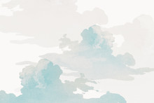 Gray Cloudy Sky Background Des...