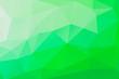 Leinwandbild Motiv Green and white crystallize patterned background