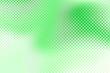 Leinwandbild Motiv Bright green halftone background