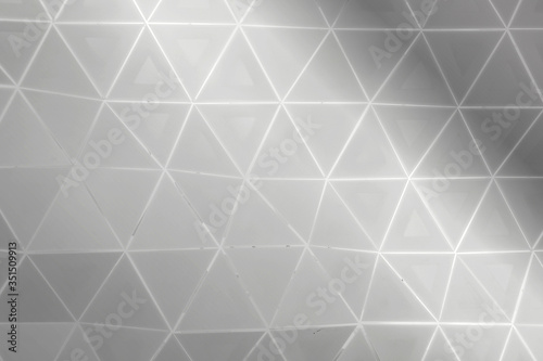 Fotomural Abstract silver metallic background design