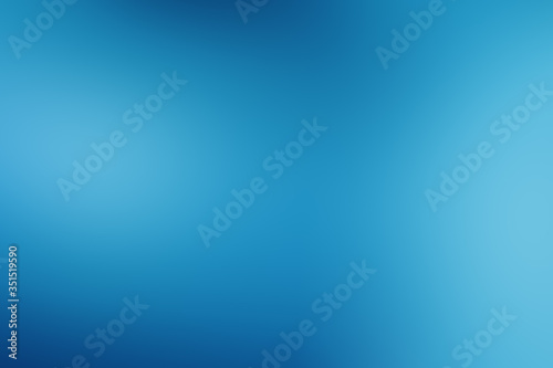 Fototapeta Blue soft blurred background obraz