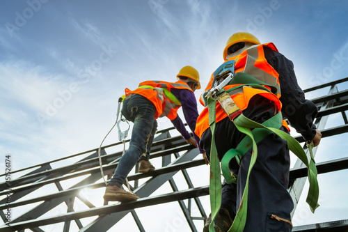 Fotografia Safety body construction, Working at height equipment