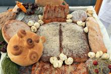 Various Loaf Of Breads Arrange...