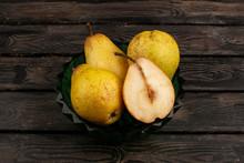 Pears Fresh Ripe Mellow Inside...