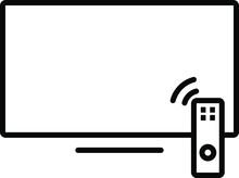 Tv Icon , Vector Illustration