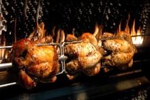 Close-up Of Chicken Rotisserie...