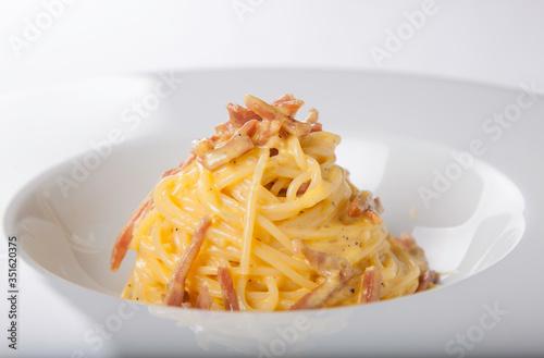 Fototapeta pasta with cheese obraz