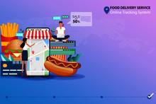 Concept Of Food Delivery Servi...