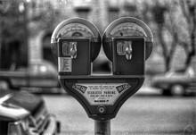 Close-up Of Parking Meter