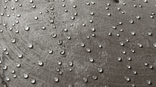 Foto Full Frame Shot Of Wet Wall