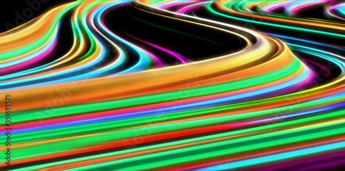 Obraz falująca struktura - fototapety do salonu