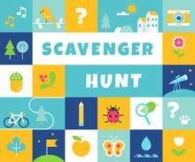 Nature Scavenger Hunt. Summer ...
