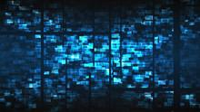 Cyberpunk Glitch Background. D...