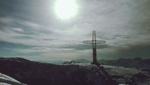 View Of Cross Against Sky