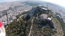 Church Of Agios Georgios On Mount Lycabettus By Residential District