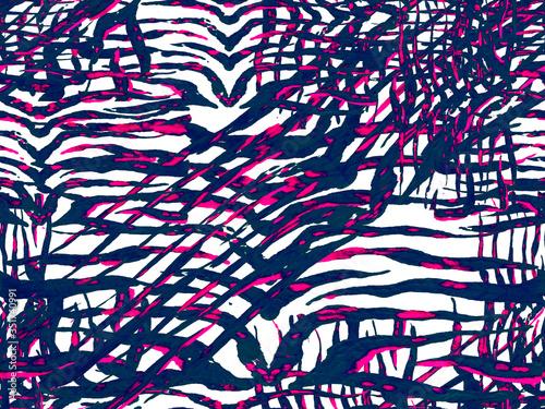 Photo Watercolor Seamless Pattern.