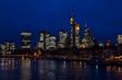 Frankfurt Night Landscape