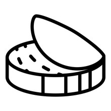 Fish Tin Can Icon. Outline Fis...