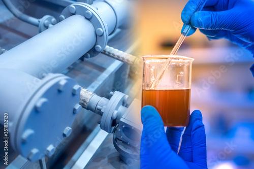 Chemical analysis at the enterprise Tapéta, Fotótapéta