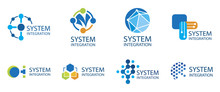 Vector Logo Of A System Integr...