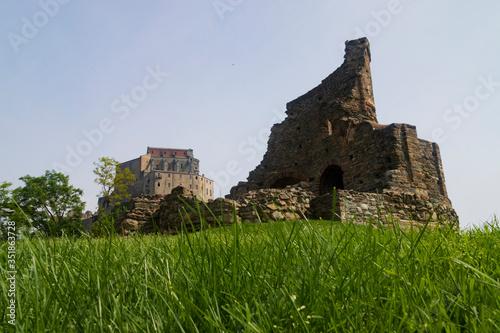 Photo Sacra San Michele,   antica abazia e chiesa  medioevale  magica e misteriosa
