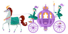 Princess Fantasy Carriage With...