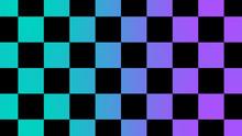 New Cyan & Purple Chessboard A...